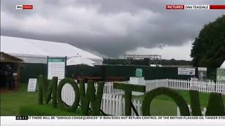 Weather Events 2019 - Mini tornado hits Greater Manchester (UK) - Sky News - 20th July 2019