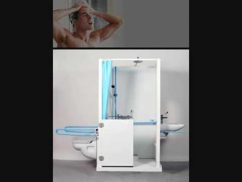 ensemble de douche axeo sans travaux pour personnes handicap es ou mobilit r duite youtube. Black Bedroom Furniture Sets. Home Design Ideas