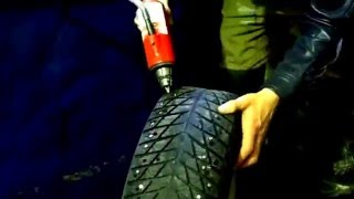 видео Ошиповка зимних шин цена