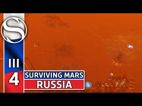 #4 The Great Dust Storm - Surviving Mars - Surviving Mars Gameplay