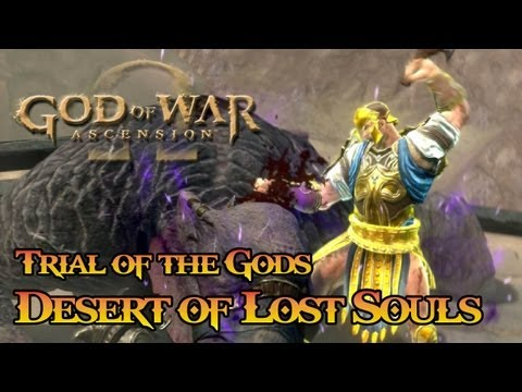 God of War: Ascension - Trials of the Gods: Desert of Lost Souls [Co op] TRUE-HD QUALITY