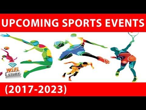UPCOMING SPORTS EVENTS AND HOSTING CITIES (आगामी खेल प्रतियोगिताएँ) for SSC, BANK, UPSC, RAILWAY