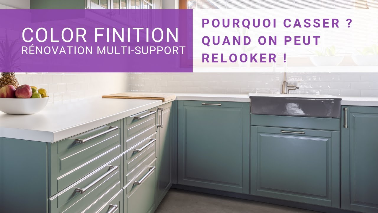 Peintures Color Finition Renovation Multi Support Renovez Votre Interieur Tout En Couleur Youtube