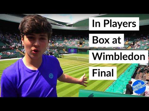 Leonie Kung Wimbledon Girls finalist 2018 players box experience