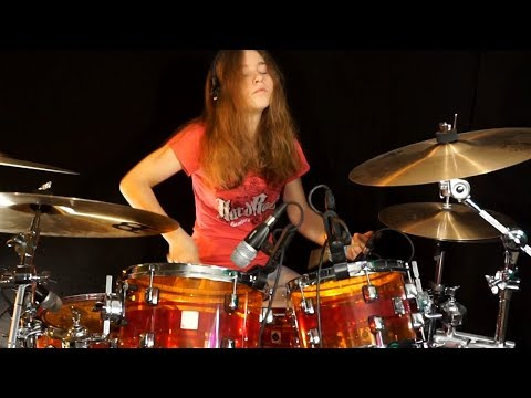 Pink Panther Theme (Henry Mancini); drum cover by Sina