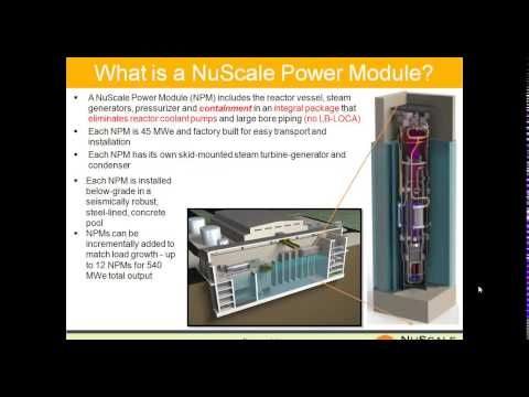 Webinar: Small Modular Nuclear Reactors