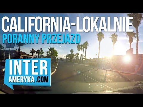 """California """"Lokalnie"""" - przejazd samochodem z Palm Springs na pustynię"""