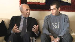President Peres Visits Gilad Shalit and His Family in Mitzpe Hila   24 Oct 2011