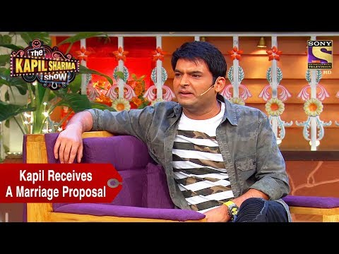 Kapil Receives A Marriage Proposal – The Kapil Sharma Show
