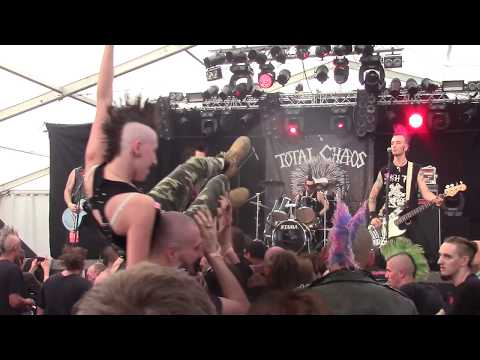 Total Chaos - Unite To Fight + Complete Control (Zikenstock Festival 2018 France) [HD]
