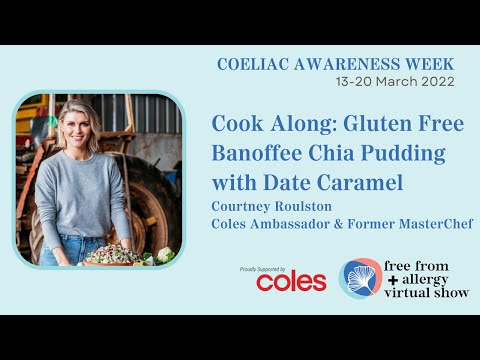Gluten Free Banoffee Chia Pudding with Date Caramel