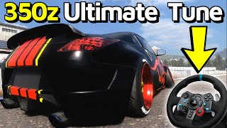 350z Ultimate Drift Setup (Piranha X) - CarX Drift Racing Online PC Gameplay | Logitech G29