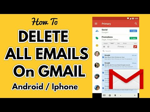 How to Delete All Emails on Gmail Android iPhone