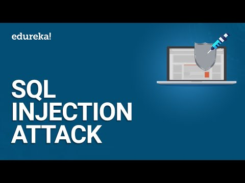 SQL Injection Attack | How To Prevent SQL Injection Attacks? | Cybersecurity Training | Edureka