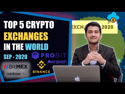 Top 5 Cryptocurrency Exchanges In The World |September 2020|