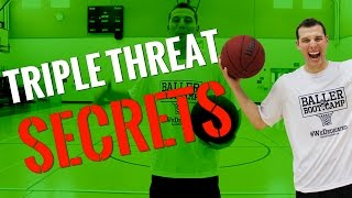 3 effective yet fundamental basketball moves out of triple threat