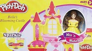 Belles Blooming Castle / Kwitnący Zamek Belli - Play-Doh - Hasbro - A7397 - MegaDyskont.pl