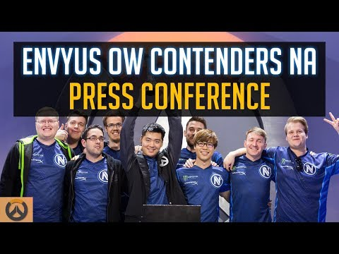 Team EnVyUs Overwatch Contenders NA Post-Game Press Conference | OW Esports
