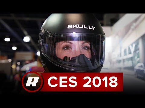 CES 2018: Check out the Fenix AR augmented reality helmet from Skully Technologies