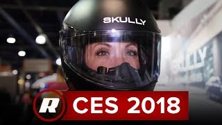 CES 2018: Check out the Fenix AR augmented reality helmet from Skully Technologies thumbnail