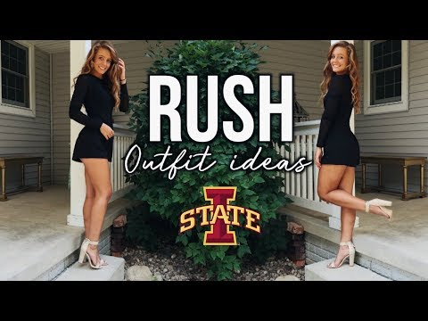 Rush Outfit Ideas | Sorority Recruitment Outfits!