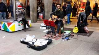 Edwin One Man Band What s up 4 Non Blondes cover - live piazza del Duomo, Milano, Italy.mp3
