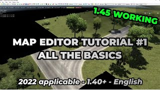 ETS2 Map Editor Tutorial #1 - The Basics   How To Create A Map