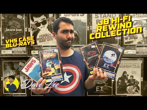 JB HI-FI: The Rewind Collection - Blu-ray / VHS Case Review & Unboxing