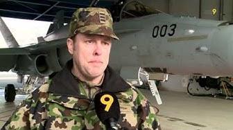 Les cours de répétition de l'armée sur la base aérienne de Sion, c'est fini!