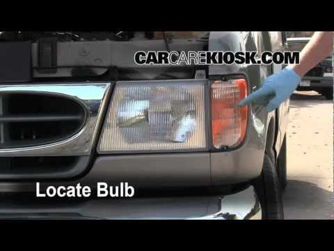 2001 Ford E-150 How To Change The Headlight, Turn Signal And Tailight