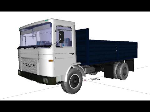 Roman Diesel Saviem 3D W.I.P. v2