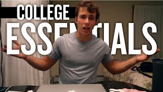 WHAT YOU NEED TO BRING TO COLLEGE!!! (COLLEGE ESSENTIALS)