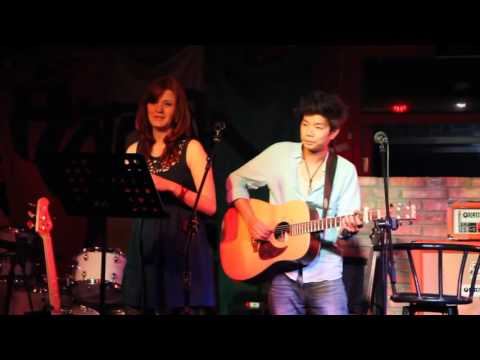 Imagine  (John Lennon cover) by Cécile & Hikmat   - Live performance in Beijing