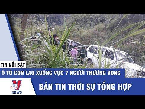 Tin tức 24h tối 08/11: Ô tô con lao xuống vực, 7 người thương vong  - VNEWS