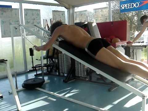 appareil musculation natation