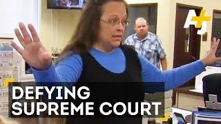 Same-Sex Marriage Licenses STILL Denied By Kentucky Clerk Kim Davis