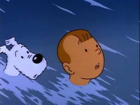 Tintins äventyr E20 Solens tempel del 1