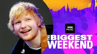 ed sheeran castle on the hill the biggest weekend