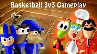 BombSquad Joyride Modpack 3v3 Basketball Gameplay