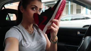 Mall Vlog | Picking up the Jordan Banned 1's