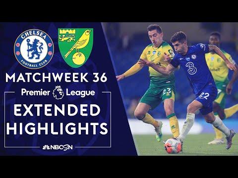 Chelsea v. Norwich City | PREMIER LEAGUE HIGHLIGHTS | 7/14/2020 | NBC Sports