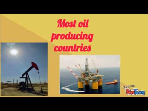 Most Oil producing countries