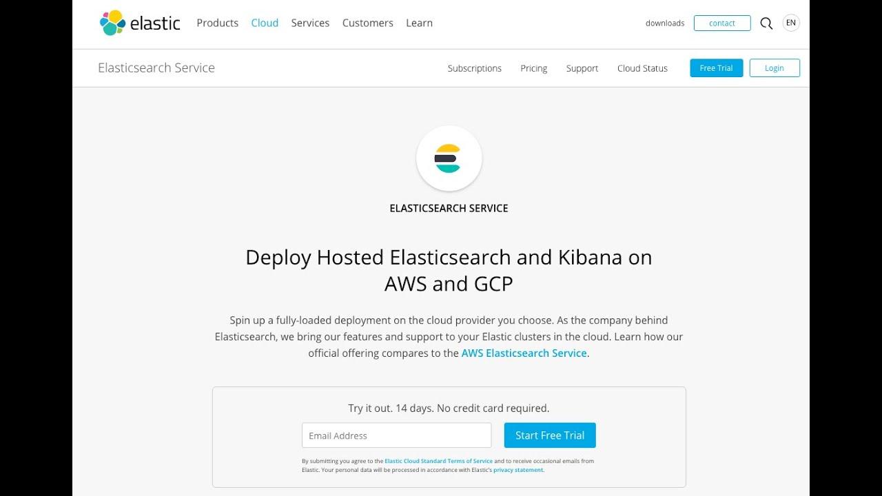 Create an Elastic Elasticsearch index documentation with WPSOLR