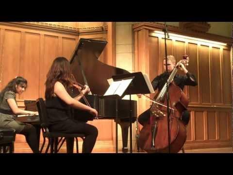 Trio Composition by Leeza Ali, Movements I and II