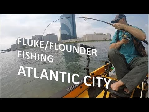 Atlantic City Fluke - Flounder Fishing