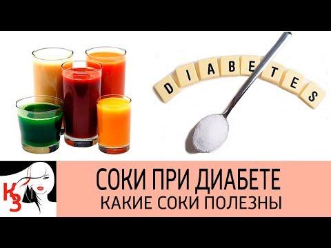 СОКИ ПРИ ДИАБЕТЕ. Какие соки полезны при сахарном диабете