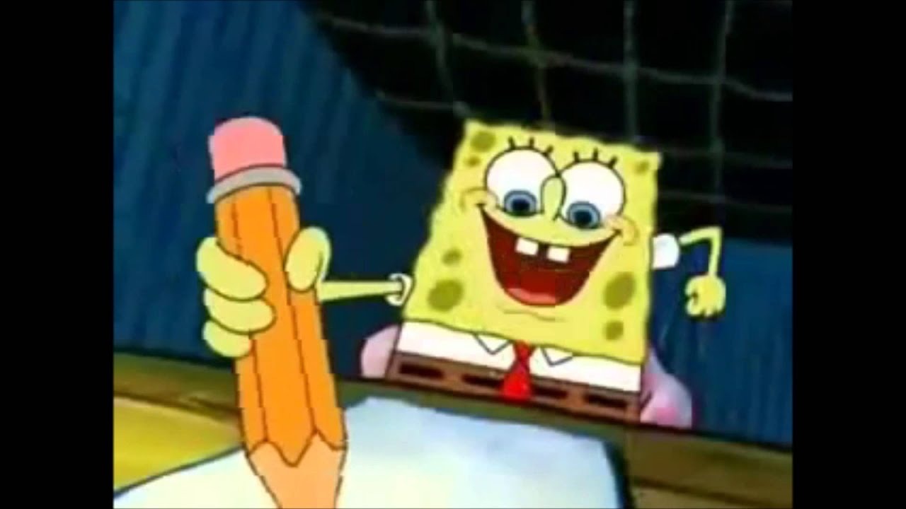 spongebob writing paper Some of the best lines in spongebob history - duration: 2:15 usman abdullah 3,362,049 views 2:15 important newscast - duration: 0:14.