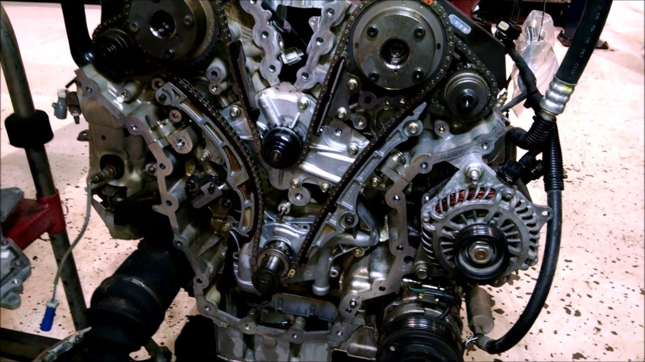 water pump leak on 2008 ford edge fail youtube ford escape engine diagram 2011 ford edge 3 5 litre engine diagram [ 1280 x 720 Pixel ]