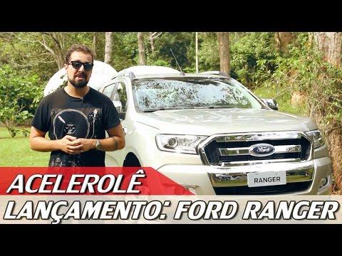 LANÇAMENTO: FORD RANGER - ACELEROLÊ #5 | ACELERADOS