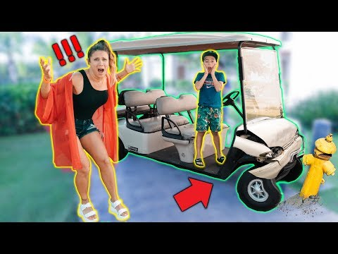 I GOT IN A ACCIDENT PRANK ON MOM! *BAD REACTION* | The Royalty Family
